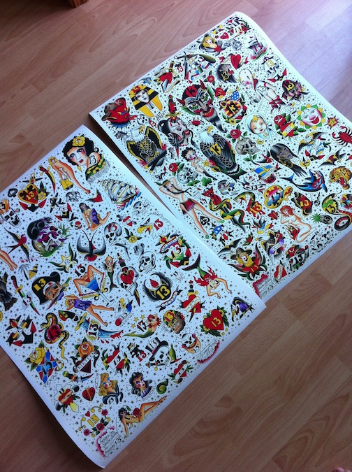 Sailor Jerry 13 Flash Sheet