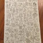 Friday the 13th Tattoo Flash Sheet