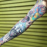 Traditional Tattoo Sleeve