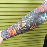 Traditional Tattoo Sleeve_Body Suit